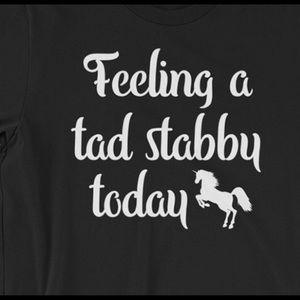Feeling a tad stabby today lol